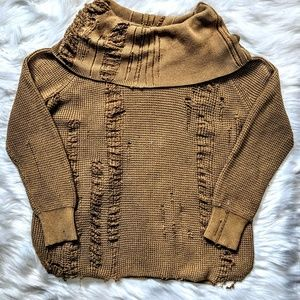 Michael Kors Sweaters - Destroyed Oversized Sweater